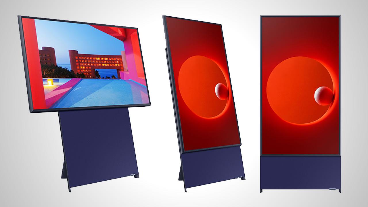 Conoce el nuevo televisor de Samsung para tomas verticales